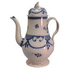 Pearlware Coffee Pot ca. 1790-1800