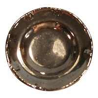 Silver Luster Toy Plate ca. 1830
