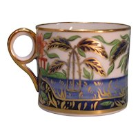 "Minton ""Japan Pattern"" Coffee Can ca. 1810"
