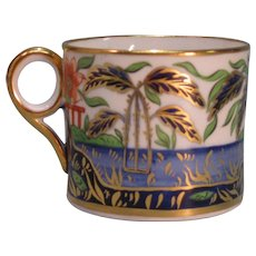 "Minton ""Japan Pattern"" Coffee Can ca. 1810"