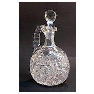 Brilliant Period Cut Glass Decanter ca. 1900