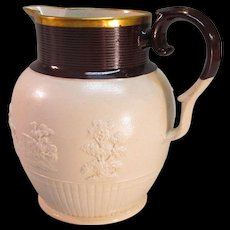 English Stoneware Hunt Jug ca. 1810