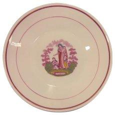 "Staffordshire ""Charity"" Dish ca. 1835-40"