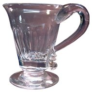 Blown and Cut Handled Cup