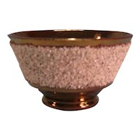 "Copper Luster ""Gravel"" Bowl ca. 1845"
