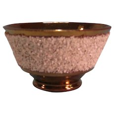 "Copper Luster ""Gravel"" Bowl ca. 1845"