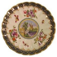 "Worcester ""Dalhousie"" Plate ca. 1780"