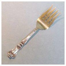 """Baker-Manchester Sterling """"Poppy"""" Serving Fork"""