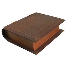 Wooden Book Form Box