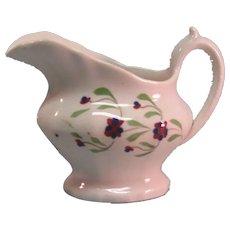 Staffordshire Toy Creamer ca. 1840-50