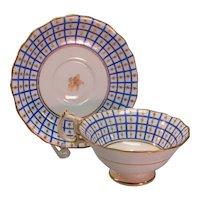 H & R Daniel Cup & Saucer ca.. 1840