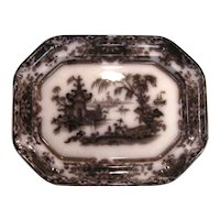 Corean Mulberry Ironstone Platter ca. 1850