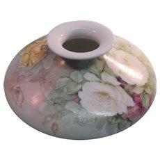 Hand Painted Limoges Vase Ca. 1900