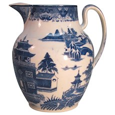 Large Pearlware Pitcher ca. 1815