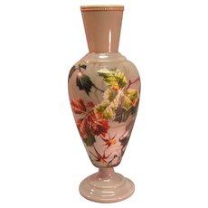 Enameled Bristol Vase ca. 1870