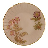 Royal Worcester Plate ca. 1889