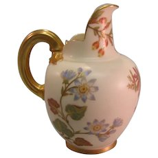 "Royal Worcester 5"" Pitcher 1889"