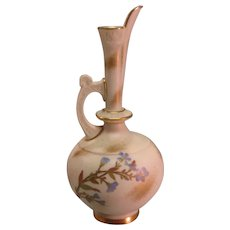 "Royal Worcester 7 ¼"" Ewer ca. 1888"
