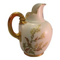 "Royal Worcester 6 ¼"" Pitcher ca. 1889"