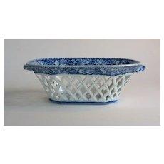 Staffordshire Fruit Basket circa 1825