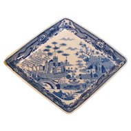 Spode Diamond Shape Dish ca. 1812