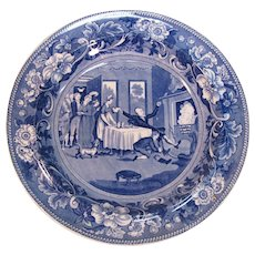 Doctor Syntax Soup Plate Clews ca. 1825
