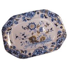 """Spode """"New Stone"""" Platter ca. 1825"""