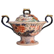 """Stone China"" Sauce Tureen ca. 1825"