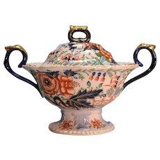 """""""Stone China"""" Sauce Tureen ca. 1825"""