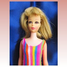 Vintage Mattel Francie in Original Swimsuit
