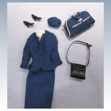 Vintage Barbie American Airlines Stewardess