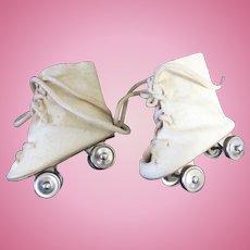 Vintage Oilcloth Skates
