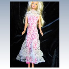 "Vintage Barbie Outfit ""Jump into Lace"""