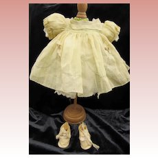 Shirley Temple Type Dress and Shoes