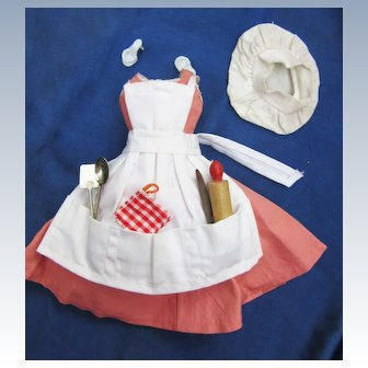 Vintage Tagged Barbie Barbie-Q Outfit Complete