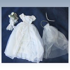 Vintage Tagged Barbie Wedding Dress 2nd Version