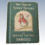 Antique Beatrix Potter Small Book for Doll