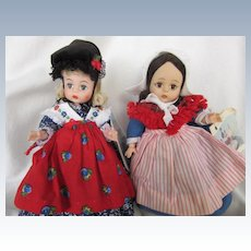 Vintage Alexander Germany and Belgium Storybook dolls