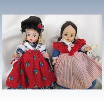 Vintage Alexander Germany and Belgium Storybook dolls