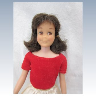 Vintage Sixties Mattel Skooter in Skipper Dress