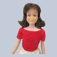 Vintage Sixties Mattel Skooter in Skipper Dress