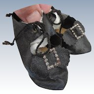 Antique French type Doll Shoes