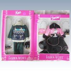 Vintage Barbie Ken Fashion Avenue Clothes