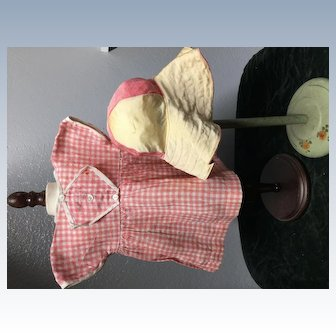 """Vintage clothing for 19"""" composition Patsy Anne Type"""