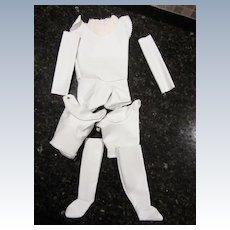 Doll Maker's Leather Body Unstuffed