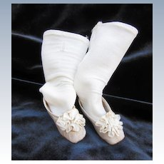 Huret or French Fashion doll shoes and socks