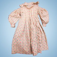 Antique Detailed Doll's early dress