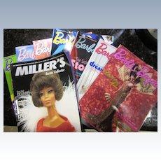 Barbie Bazaar Magazines (8) and one Miller's