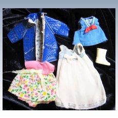 Vintage Mattel Tutti , Barbie's sister, clothing