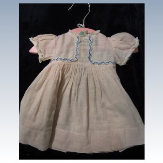 Vintage Factory Toddler or Baby Doll dress